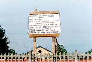 05A - Il cartello per la stazione di Tortone