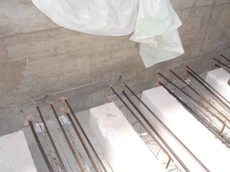 19D - ancoraggioi di un solaio con riprese in post getto mediante uso di resina epossidica bi-componente